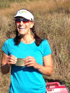 Marcy after completing Marin Headlands 100.